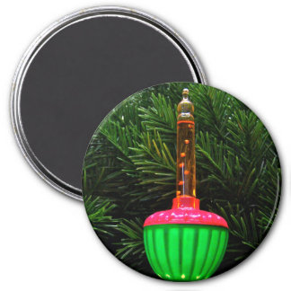 Decorative Bubble Light Holiday Magnet
