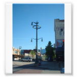 Decorative Buffalo NY Street Lamp Art Photo