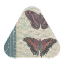 Decorative Butterfly Brocade by Vision Studio Bluetooth Speaker