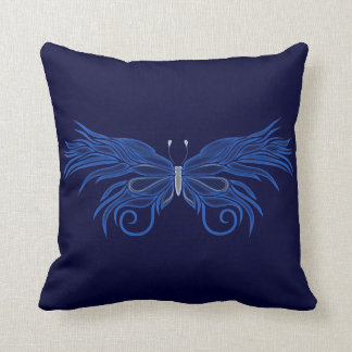 Decorative Butterfly Reversible Pillow