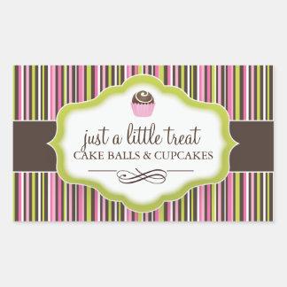 Decorative Cake Bites Stickers