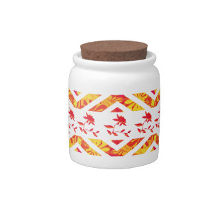 Decorative Candy Jar With Lid