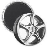 Decorative Car Rim Fridge Magnets