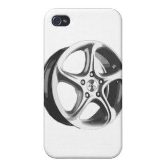 Decorative Car Rim iPhone 4 Case