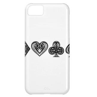 Decorative Card Suite Case For iPhone 5C