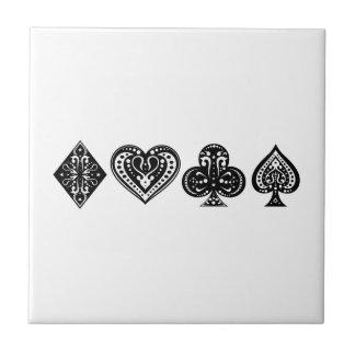 Decorative Card Suite Ceramic Tiles