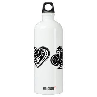 Decorative Card Suite SIGG Traveler 1.0L Water Bottle