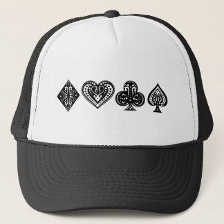 Decorative Card Suite Trucker Hat