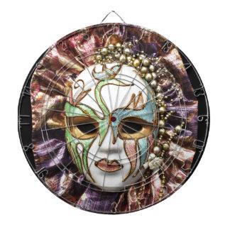 Decorative Carnival Mask Dartboards