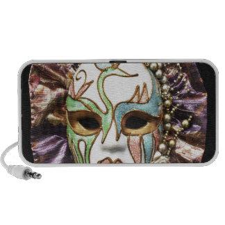 Decorative Carnival Mask Travel Speakers
