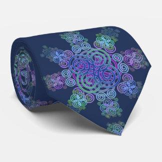 Decorative Celtic design. Tie