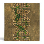Decorative Celtic Knots With Ivy Binder