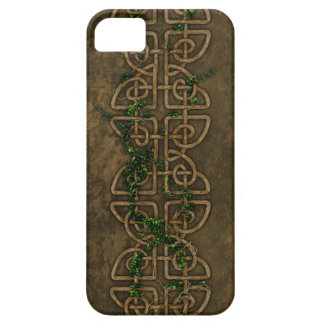 Decorative Celtic Knots With Ivy iPhone 5 Cases