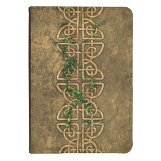 Decorative Celtic Knots With Ivy Kindle Cover