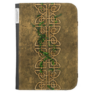 Decorative Celtic Knots With Ivy Kindle Keyboard Covers
