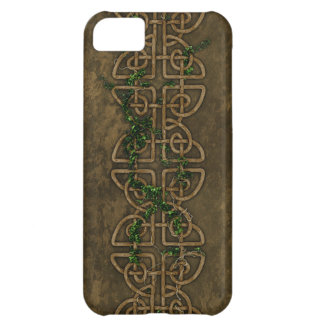Decorative Celtic Knots With Ivy iPhone 5C Cases