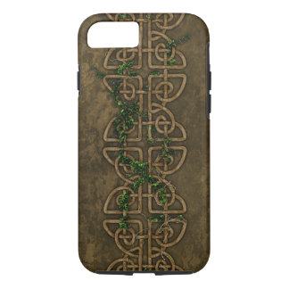 Decorative Celtic Knots With Ivy iPhone 7 Case