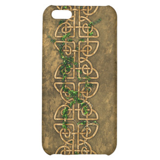 Decorative Celtic Knots With Ivy iPhone 5C Covers
