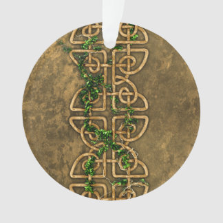 Decorative Celtic Knots With Ivy Ornament