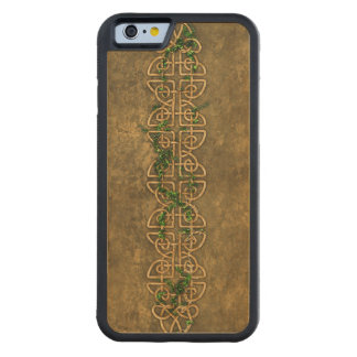 Decorative Celtic Knots With Ivy Carved® Maple iPhone 6 Bumper Case