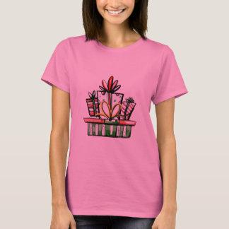 Decorative Christmas New Year Gift Box T-Shirt