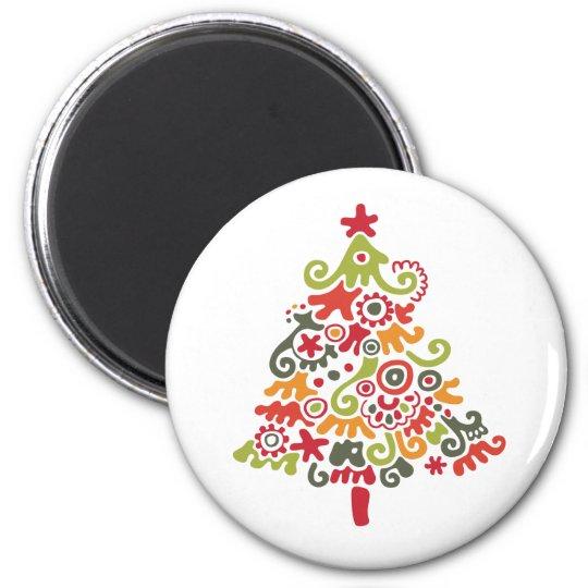 Decorative Christmas Tree Magnet