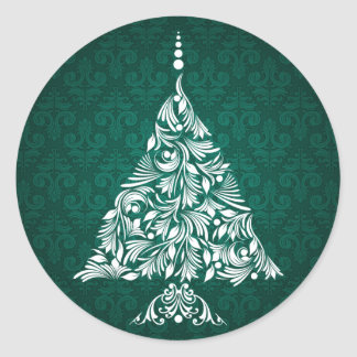 Decorative Christmas Tree Stickers