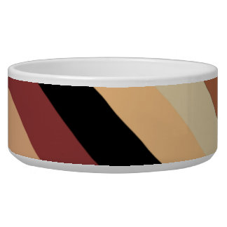 Decorative Coffee Pet Bowl