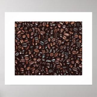 Decorative coffee print