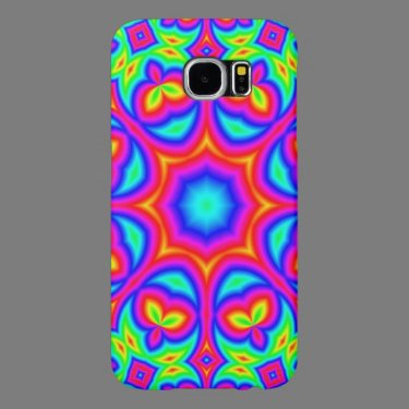 Decorative colorful pattern samsung galaxy s6 cases