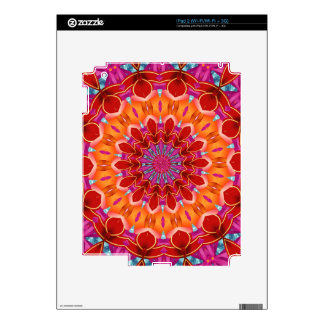 Decorative colorful pattern decals for the iPad 2