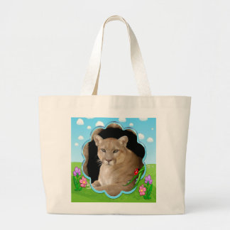 Decorative Cougar Bags