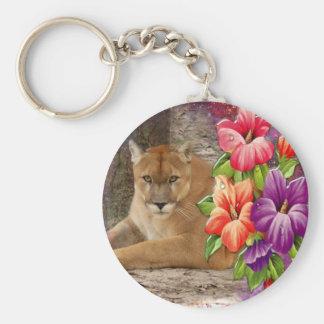 Decorative Cougar Key Chains