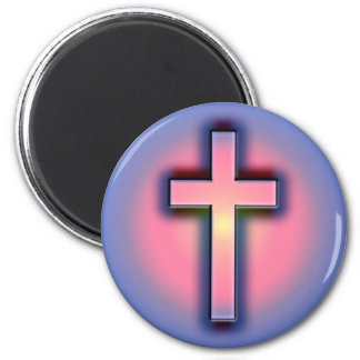 DECORATIVE CROSS MAGNET