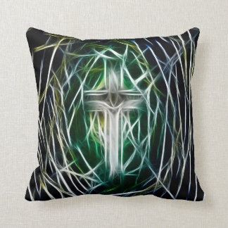 Decorative Cross Pillow