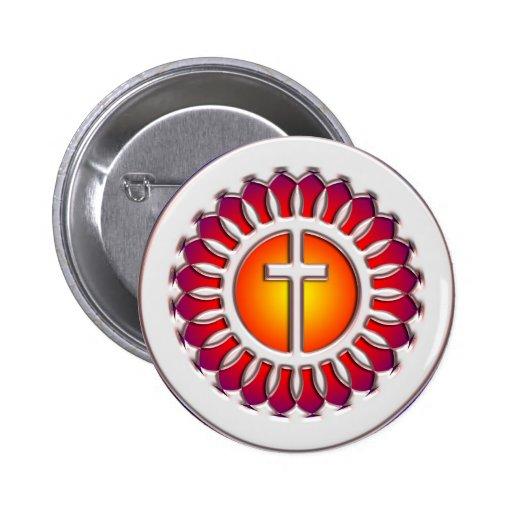 DECORATIVE CROSS PINS