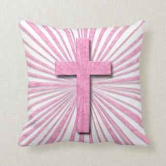Decorative Cross Throw Pillow