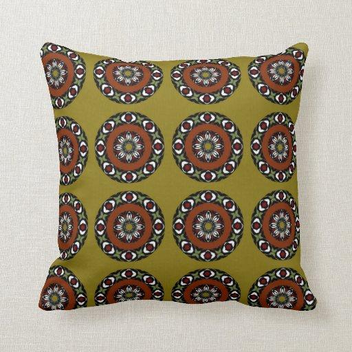Decorative cushion Dark Gold, reason Crowns Throw Pillows Zazzle