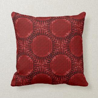 """Decorative cushion Deep Red, reason """"red Sun """""""