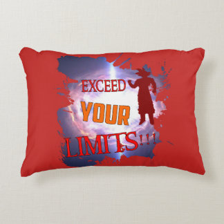 "Decorative cushion ""Exceeds your Limites"","