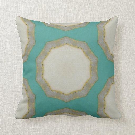 Custom Down Throw Pillows : Decorative Custom Art Throw Pillows -Geometric Zazzle