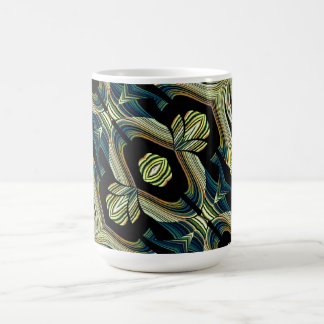Decorative Custom Mug Abstract Design