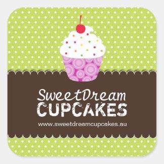 Decorative Cute Cupcake Stickers