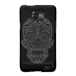 Decorative Dark Sugar Skull Samsung Galaxy Cover