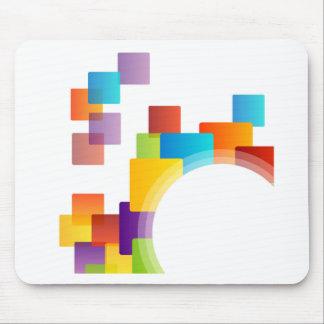 Decorative design element mouse pad
