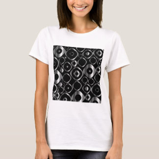 Decorative design element with silver rings T-Shirt