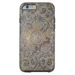 Decorative Design Flowers Metal iPhone 6 Case