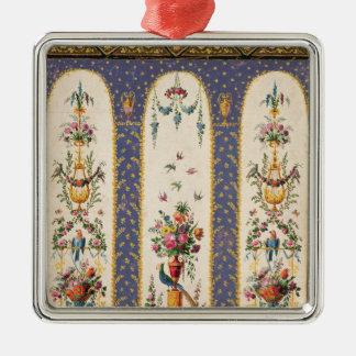 Decorative design for a garden arbour or loggia metal ornament