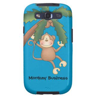 Decorative Designer Monkey Graphic - Personalize Samsung Galaxy SIII Cover