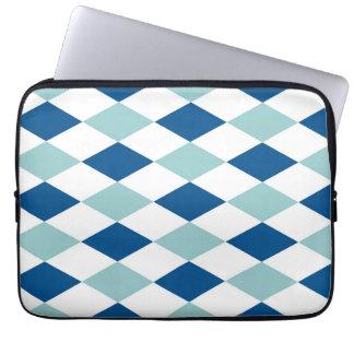 Decorative Diamond Mosaic Pattern #2 Computer Sleeve